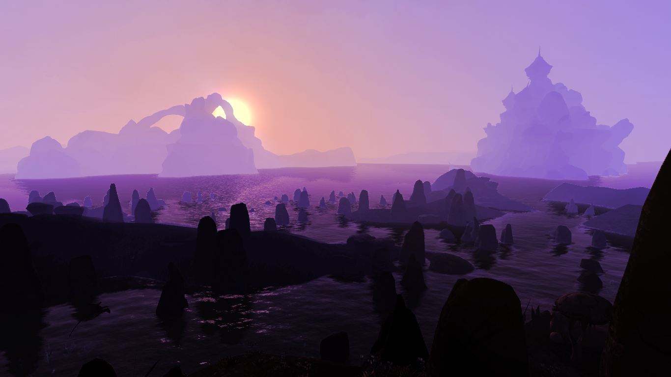 Sunrise near Sadrith Mora