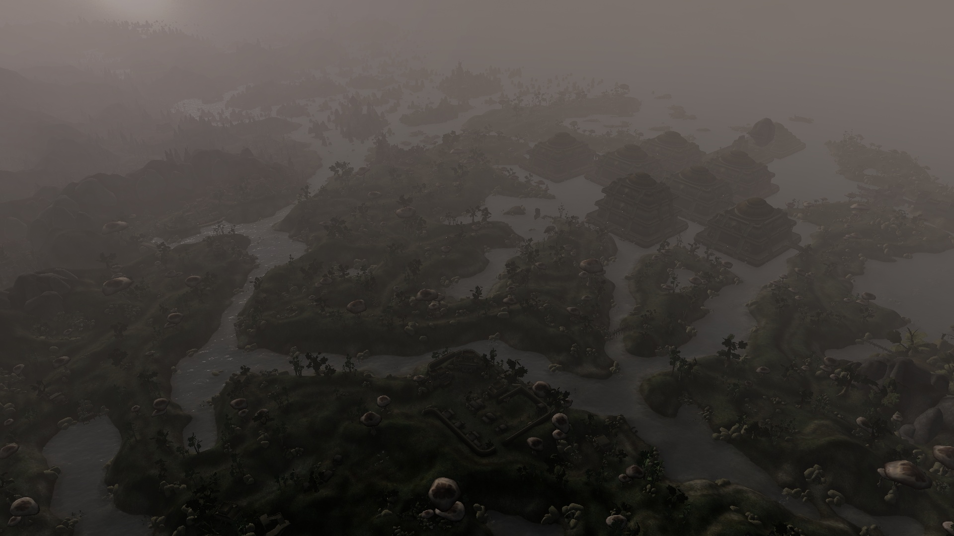 Morrowind draw distance | Morrowind Graphics Extender (MGE