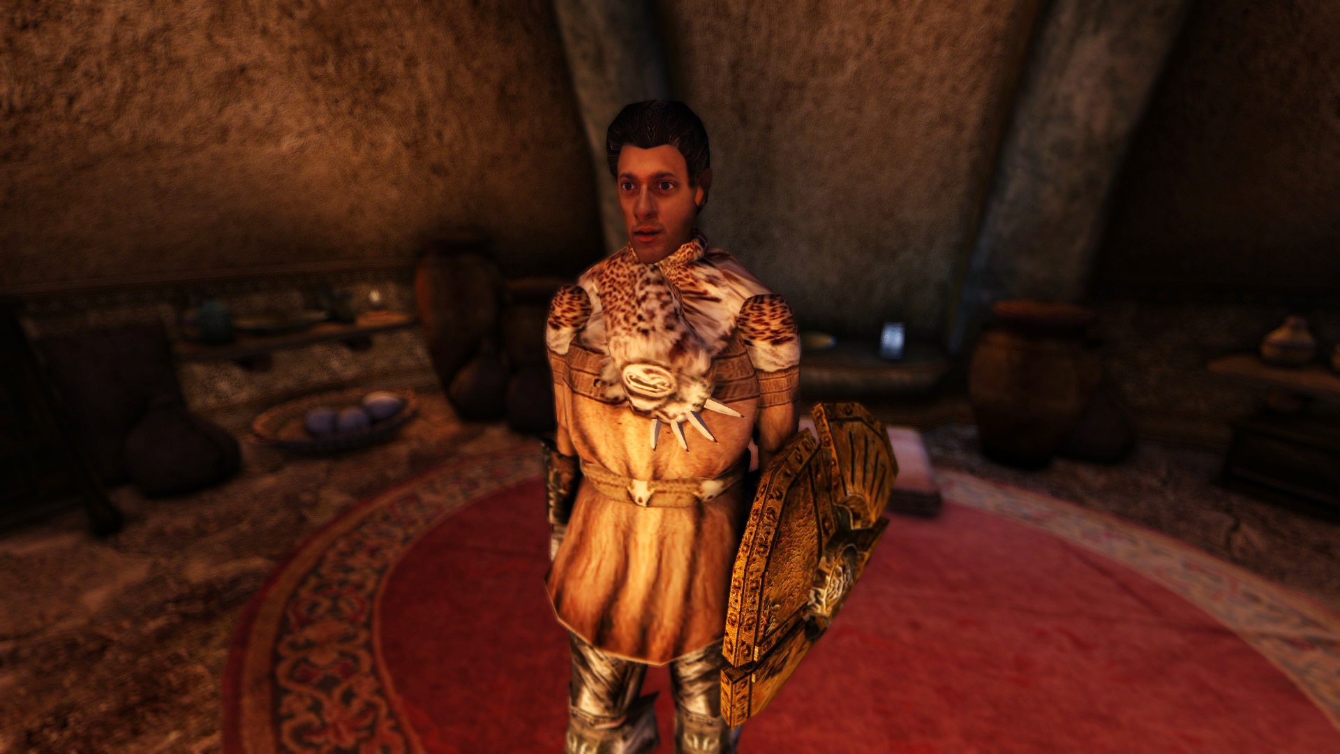 My face in Morrowind