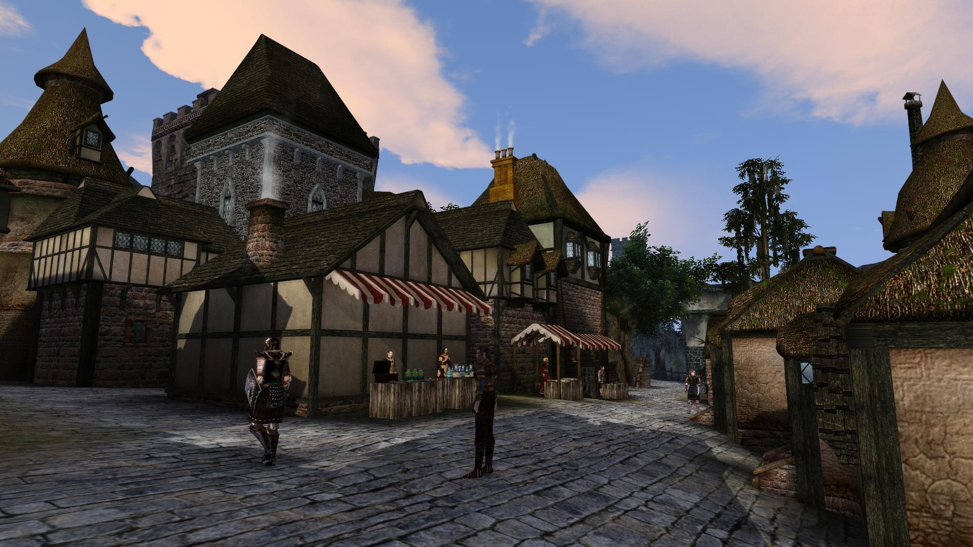 Wyrmhaven - The City Market