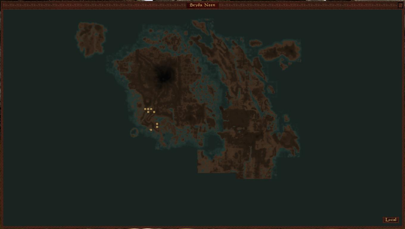Tamriel Rebuilt Map 3 world map at Morrowind Nexus - mods and community