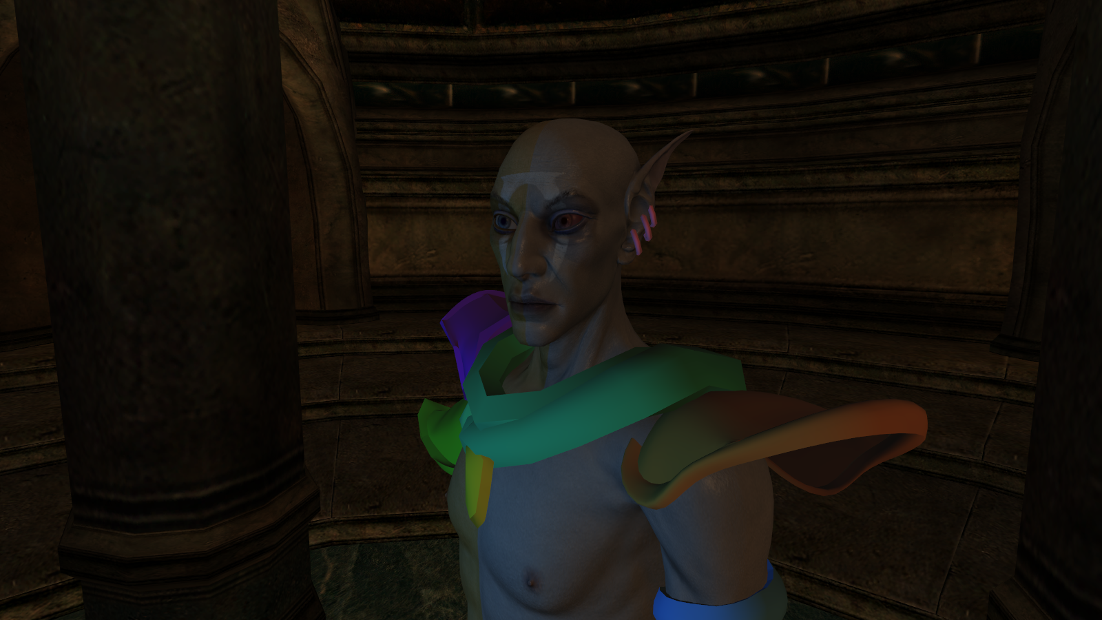 shading in morrowind is really awful