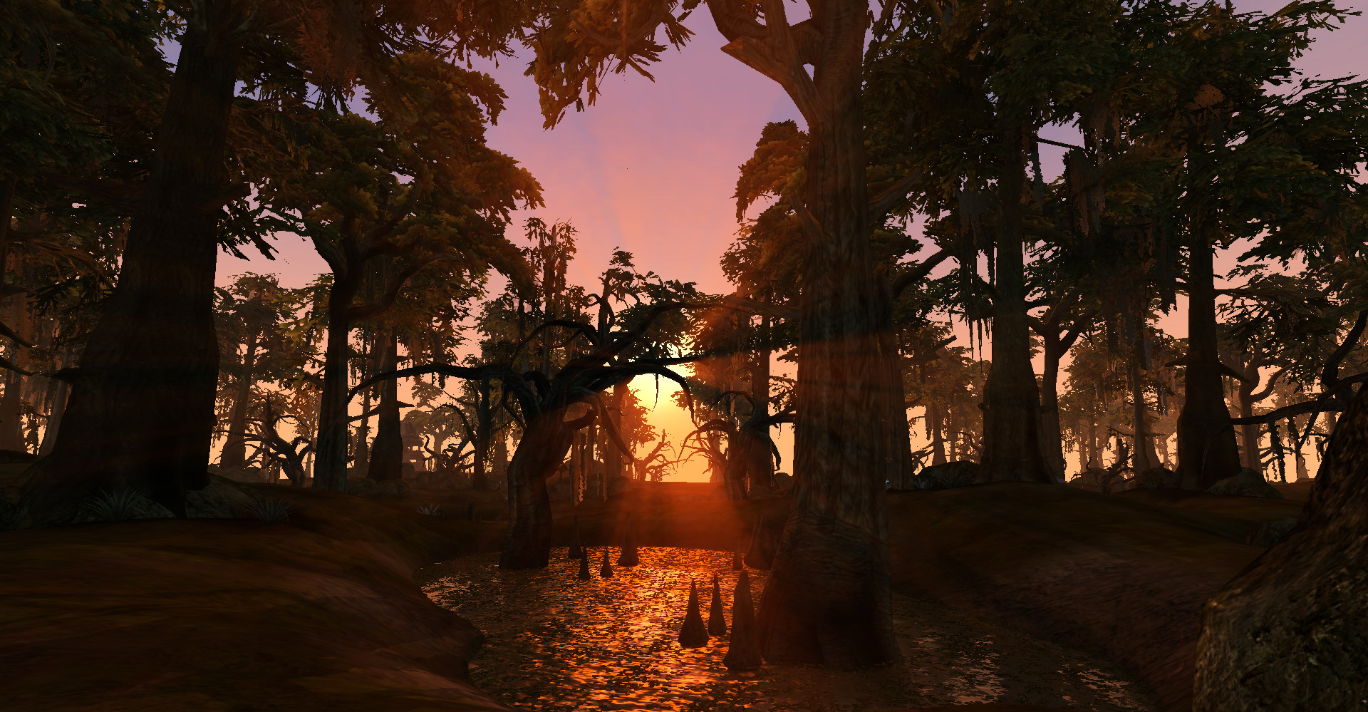 Sunset near Balmora