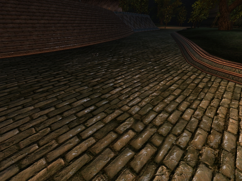 Mournhold Road Height map and Specular