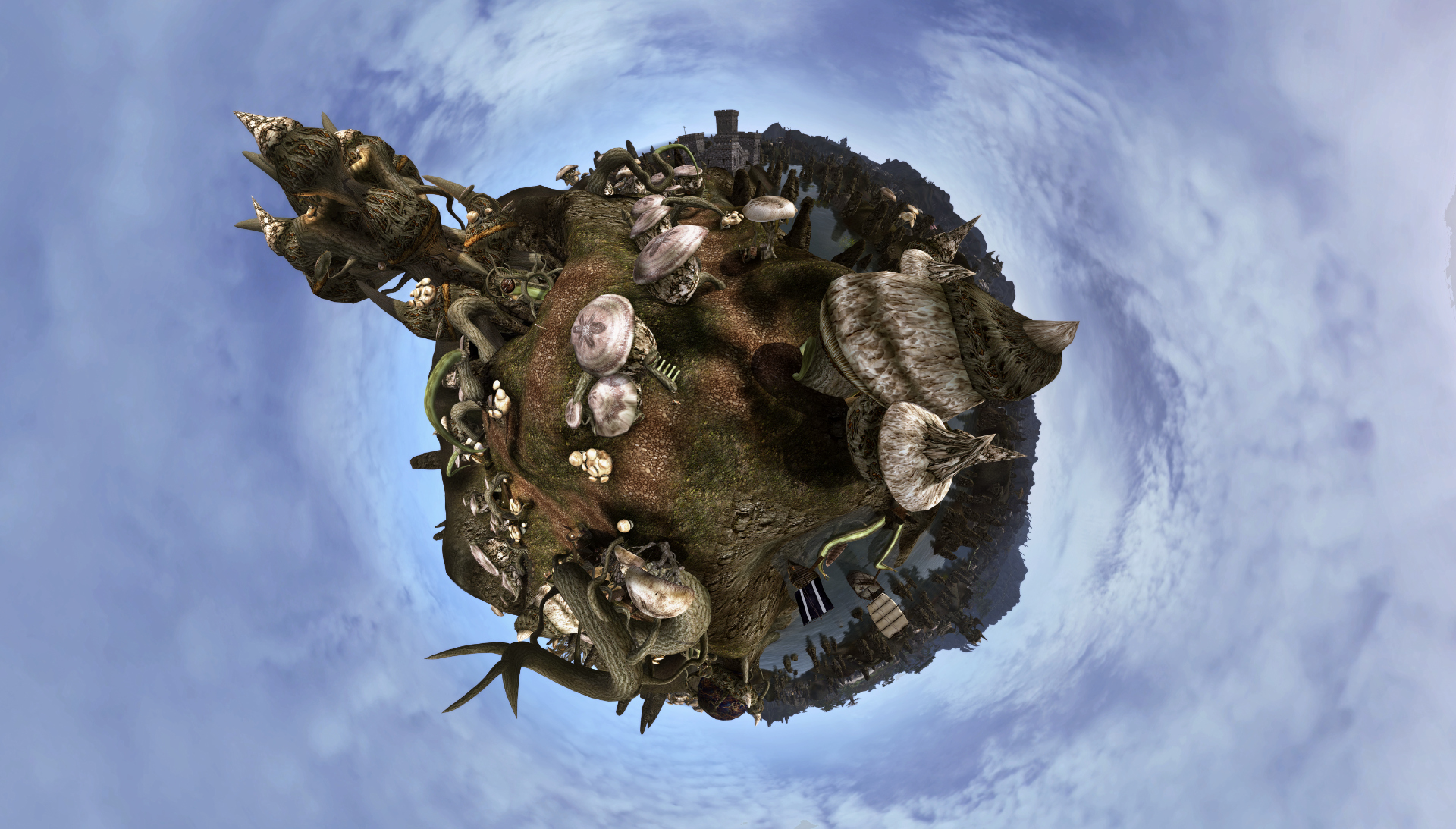 Sadrith Mora on little planet
