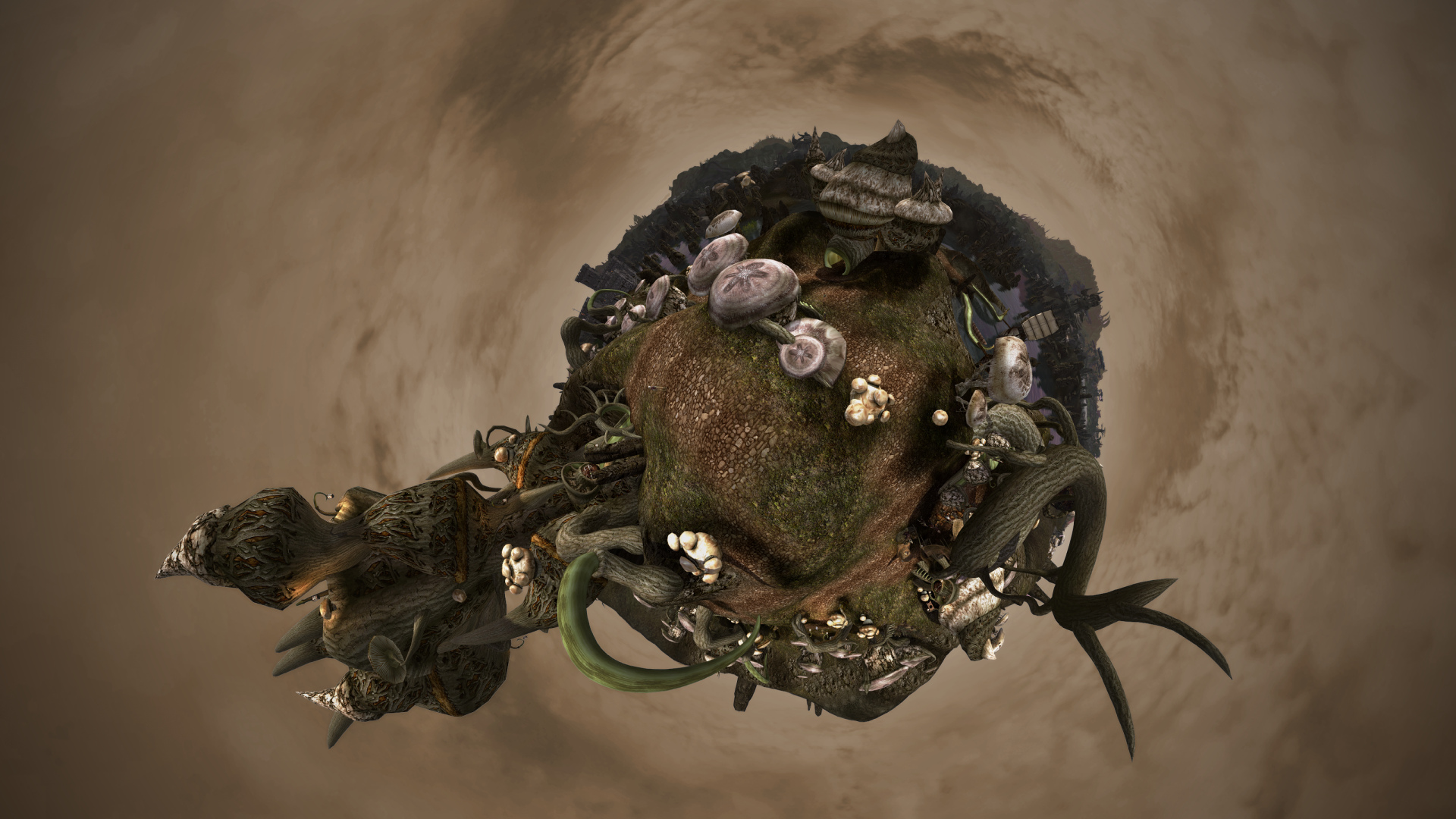 Sadrith Mora on little planet II