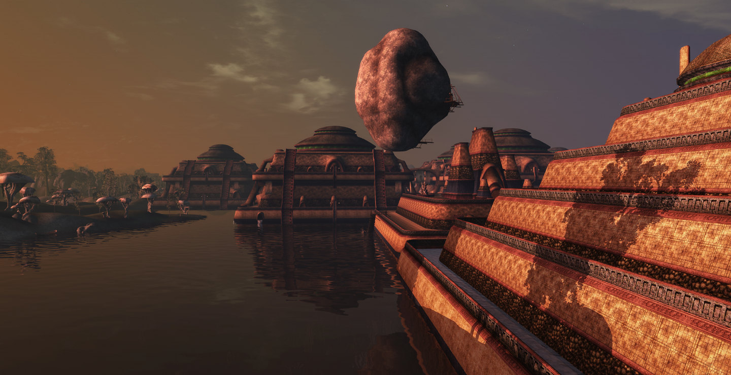 Vivec at evening II