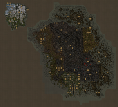 Filled World Map - OpenMW