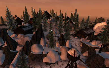 Solstheim Overhaul 8 - Skaal Village