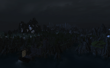 Solstheim at night