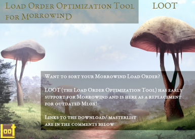 LOOT Support for Morrowind is here