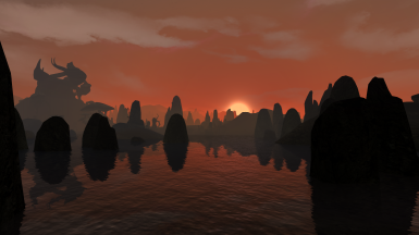 Sunset at Azura's Coast