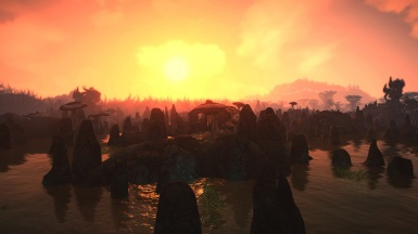 View from Sadrith Mora and The Symphony