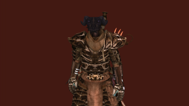 Chitin Armor and Fists of Randagulf from The Symphony