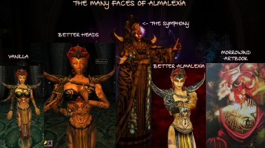 The many faces of Almalexia