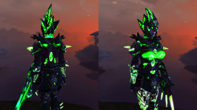 DMRA Type 2 Glass Armor with a Nice Glowing Effect