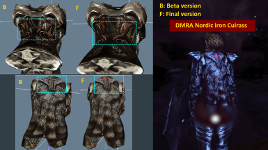 the final version of dmra nordic iron cuirass