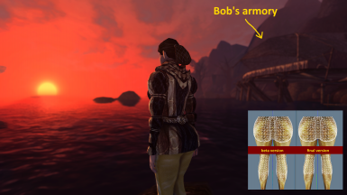 DMRA conversion for all Morrowind base clothes is now complete