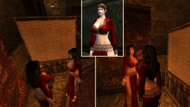 Korana's BB Gypsy Outfit Remastered for OpenMW