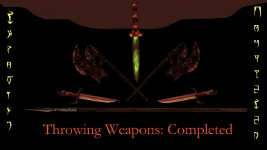 Throwing Weapons -- Completed