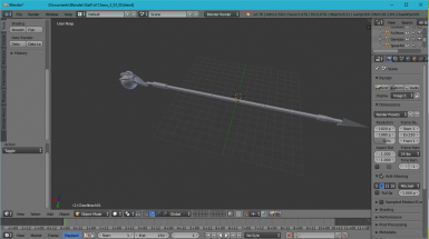 High-Poly Staff of Chaos