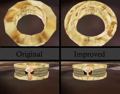 Ring of Namira Mesh Improvement and Fixes