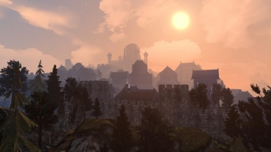 The Skyline of Markarth