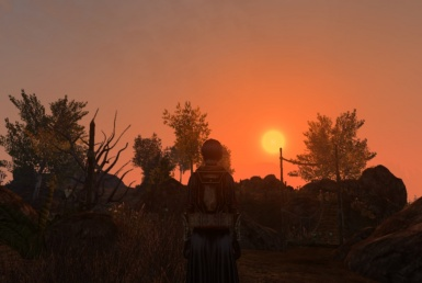 Sunset near the outskirts of Arkngthunch-Sturdumz