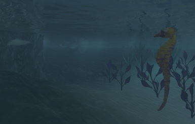 Seahorse from abot's Water Life mod