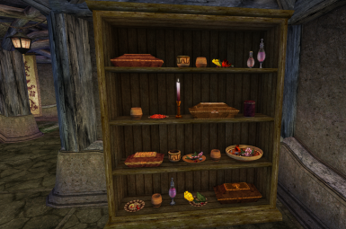 Morrowind houses are much easier to decorate