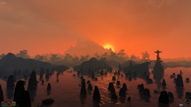 Vvardenfell Sunset
