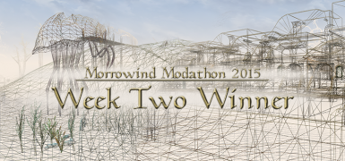 Banner for Morrowind Modathon 2015 Week Two Winner - by Melchior Dahrk