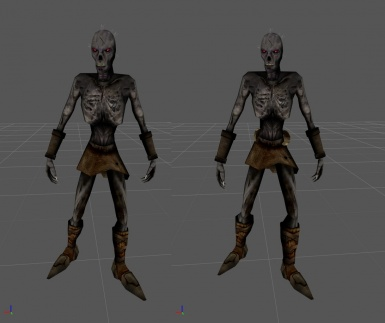 Draugr Reproportioned