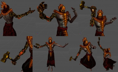 Dagoth Vemyn's Metal Arm