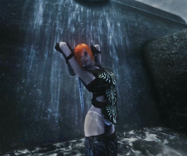 Waterfall Pose Front View Screenshot