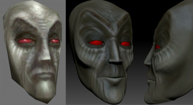 Dark Elf Head Sculpt