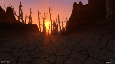 Ashlands Sunset
