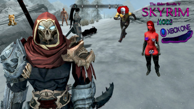 Skyrim Remastered xBox one Mods Darksiders War Armor And Weapons