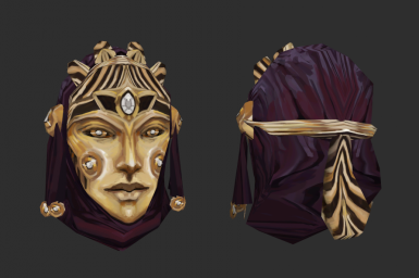 updated - gold armor retexture wip