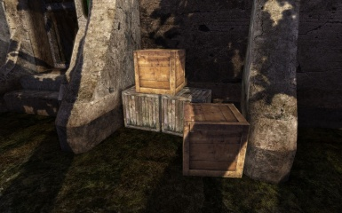 And even more crates