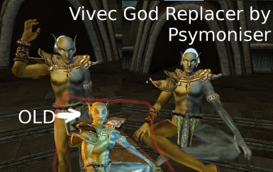 Vivec God Replacer by Psymoniser