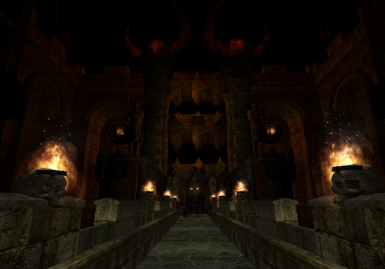 Gloomy vaults of an ancient temple_2