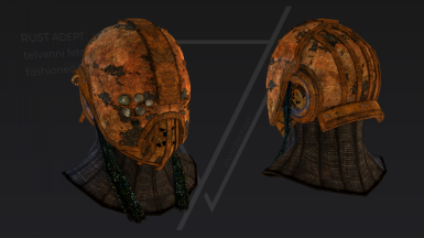 Rust adept helmet animation