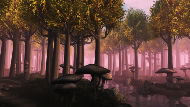 Melchior's Mallorn Trees in The Ascadian Isles
