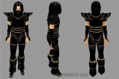 shadowfox armor by westly