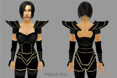 shadowfox armor female by westly