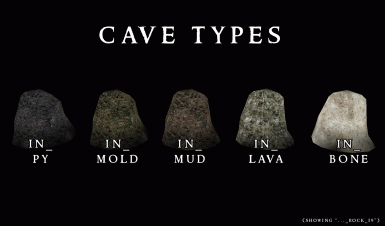 Morrowind Visual Index - Cave - Attributes