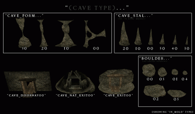 Morrowind Visual Index - Cave - Special