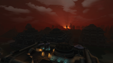 Sunset in Vivec