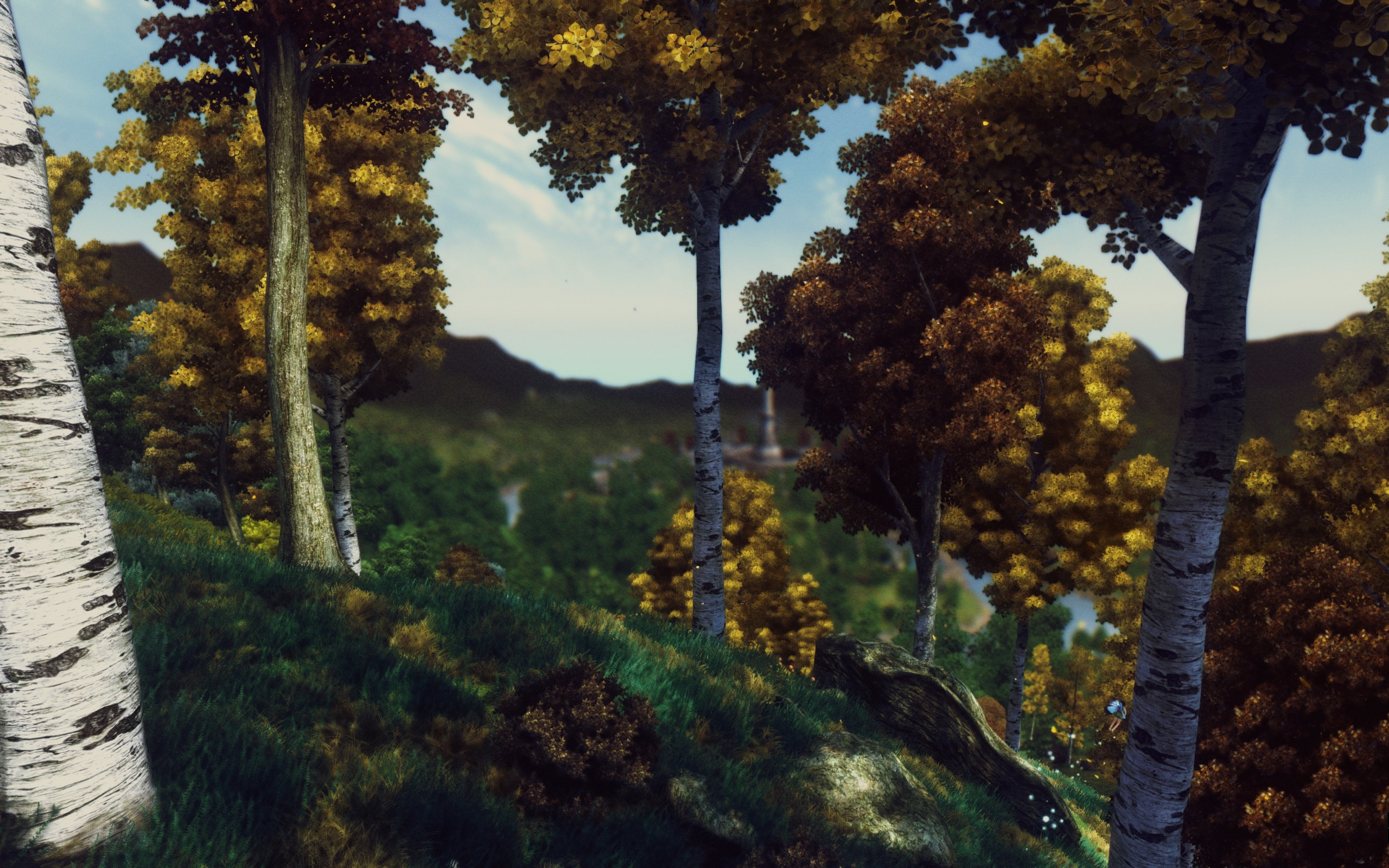 A Tweaked ENB with Falling Leaves